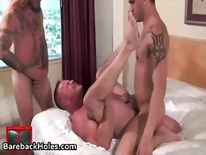 Extreme gay bareback fucking and cock