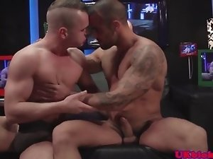 English jock duo ass fucking till climax