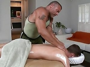 Massage session for nicelooking twinks