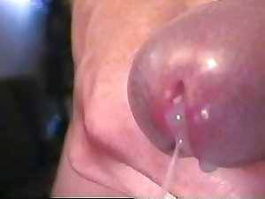 My Perfect Cock 004 Extreme Close-up of my Huge Cumshot