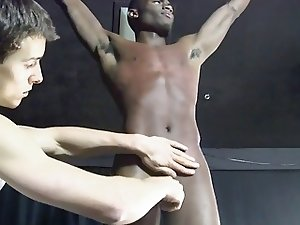 BDSM young slave boy whipped and milked schwule jungs