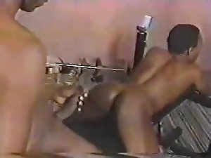 BIG black COCK fucks willing BLACK ass