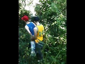 Boys fucking in the woods
