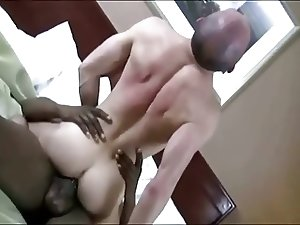 White Guy Gives Big Black Cock A Great Ride