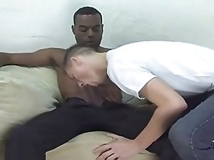 Huge Black Cock Fucks White Boy